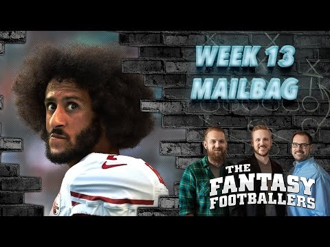 Fantasy Football 2016 - Week 13 Pump the Brakes & Mailbag - Ep. #317