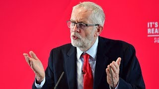 Jeremy Corbyn warns of Donald Trump 'sweetheart deal'