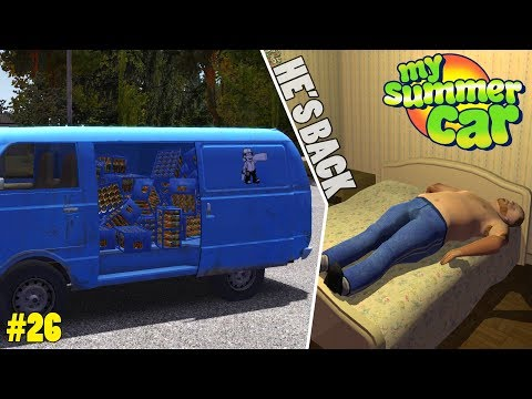 Teimo Stole My Beer - Garbage Disposal! | My Summer Car