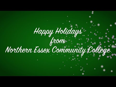 Happy Holidays from Northern Essex Community College