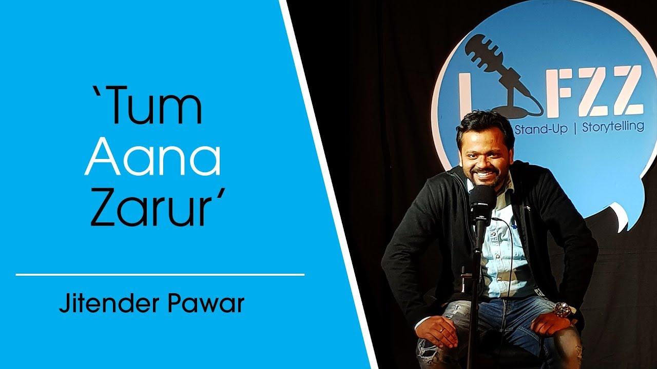 Tum Aana Zarur | Jitender Pawar | Poetry | LAFZZ - YouTube