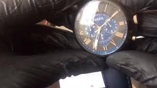 Jam Tangan Pria Merk Fossil Grand FS5061 FS 5061 Original FullSet