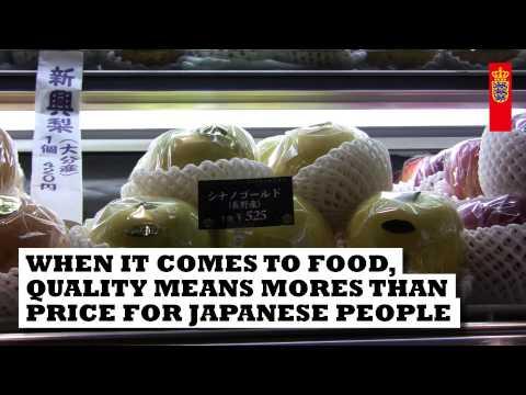 Japan er et godt match for dansk design og danske fødevarer