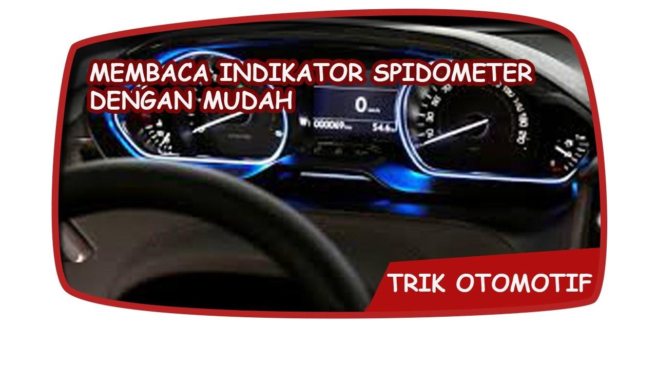 indikator grand new avanza xe toyota penting cara membaca speedometer youtube