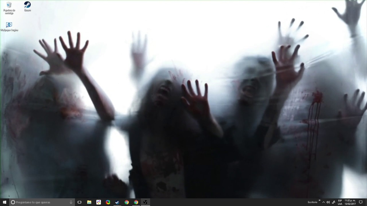 Wallpaper Zombie - YouTube