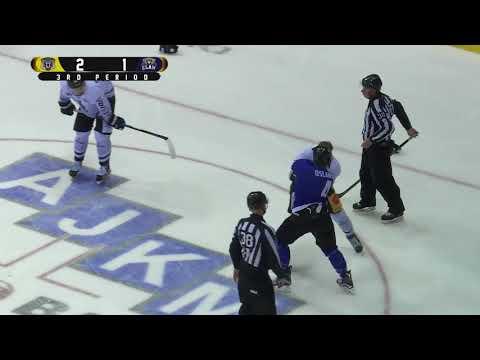Jeff Brown vs Landon Oslanski Pre Season fight 20-8-17