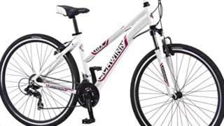 Schwinn Women's GTX-1 700C Dual Sport Bicycle, White/Silver, 16-Inch