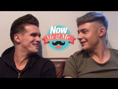 Geordie Shore's Gaz Beadle and Scotty T play Mr & Mr!