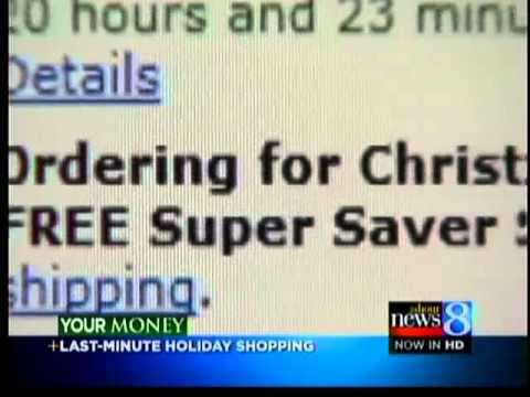 Time is short for online holiday deals
