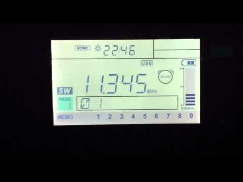 11345 KHz  USB  MWARA  Stockholm radio