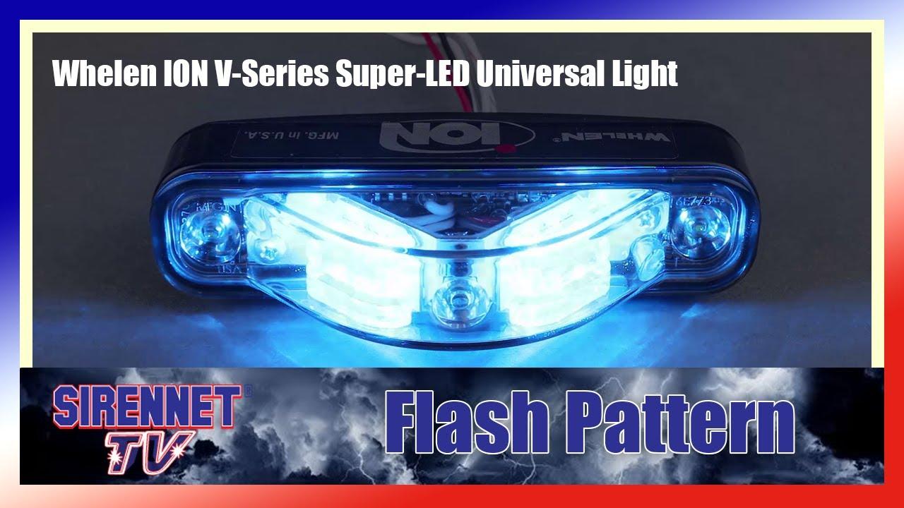 36 Volt To 12 Volt Wiring Diagram Flash Pattern Whelen Ion V Series Super Led Universal