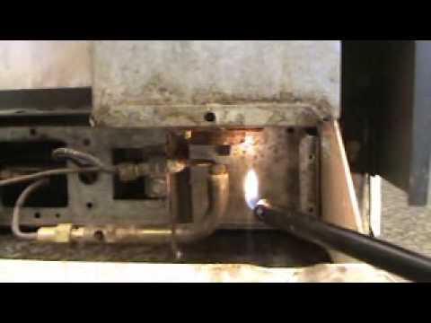 Consul Danby Gas Refrigerator Repair Youtube