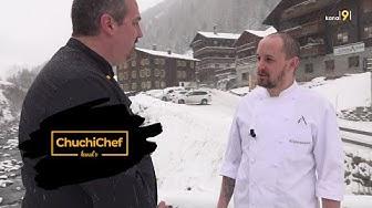 ChuchiChef zu Gast im Restaurant Pension Albrun in Binn