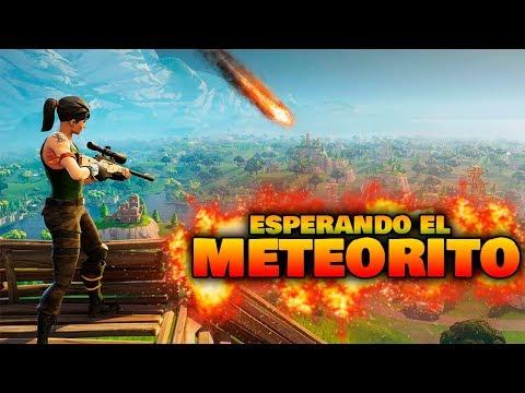 En directo! Equipo troll esperando el meteorito! Fortnite Streaming | BraxXter