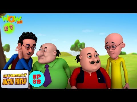 Race to Rock Garden   Motu Patlu in Hindi WITH ENGLISH SUBTITLES   As seen on Nick thumbnail