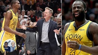 Dissecting the flagrant foul on Draymond Green that led to Steve Kerr's ejection | Jalen & Jacoby