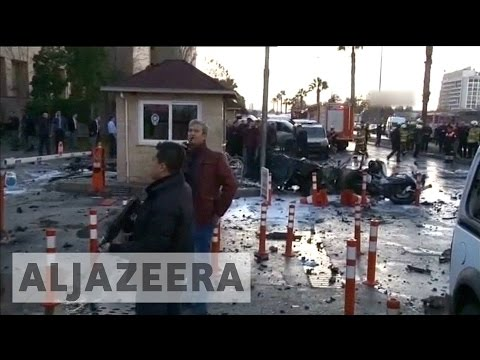 Turkey points finger at Kurdish separatists after deadly bombing