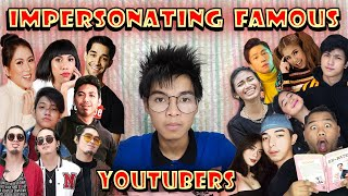 Impersonating Famous Youtubers in the Philippines