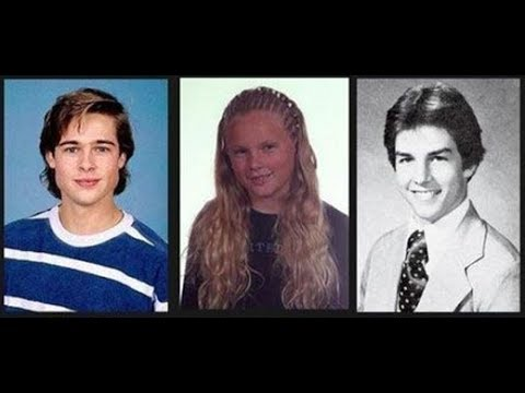 Celebrity Yearbook Photos | Funniest Hollywood Yearbook ...