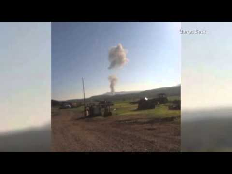 Sheriff's Office: Military Jet Crashes in Vi