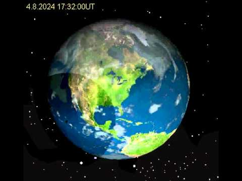 2024 April 8 Total Solar Eclipse