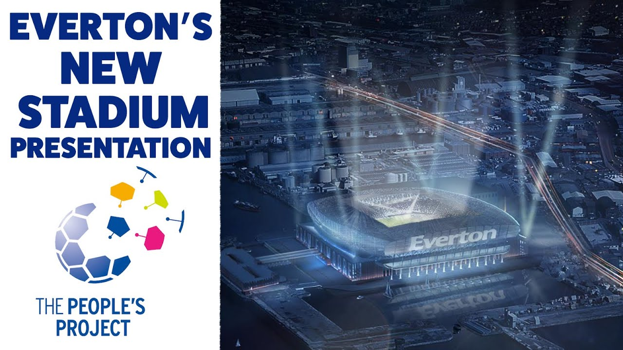 Everton S New Stadium Presentation In Full Bramley Moore Dock Goodison Legacy Plans Revealed Youtube