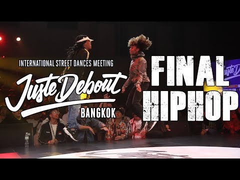 FLO, ANGYIL Vs NASTYA, ADREY | FINAL HIPHOP 2vs2 | JUSTE DEBOUT BANGKOK 2019