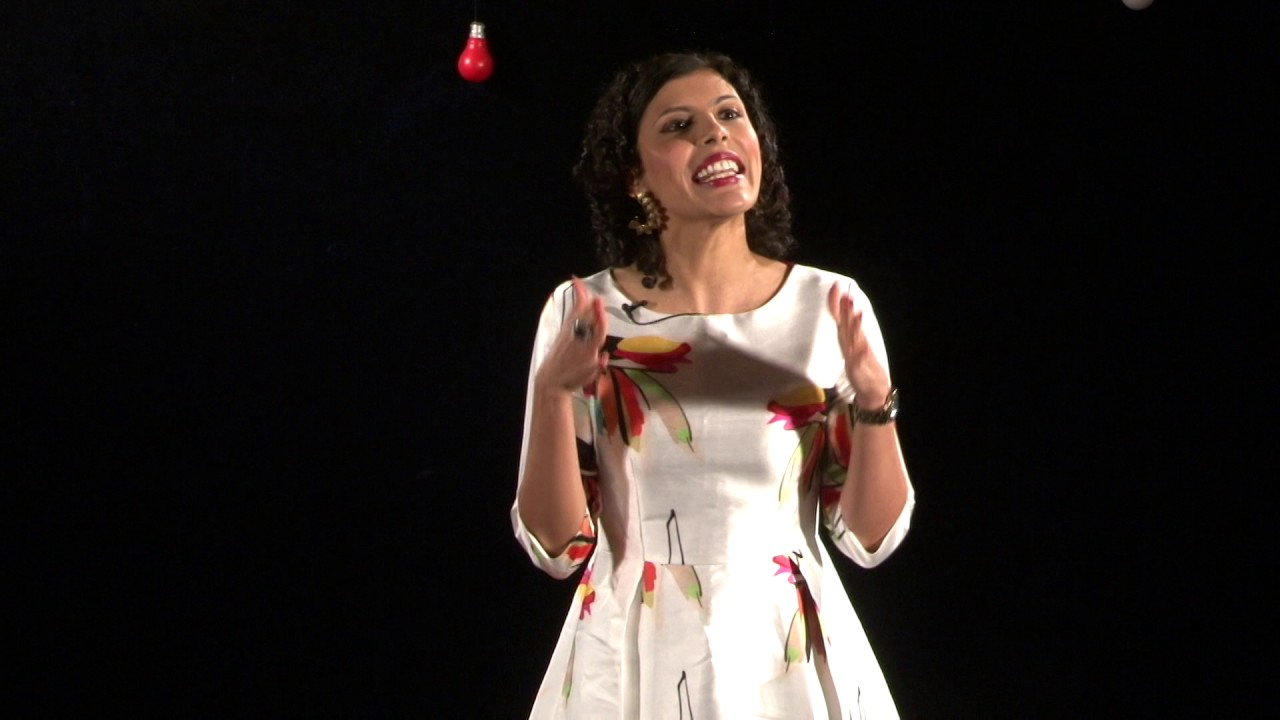 How my alter ego helped me find myself   Anu Menon   TEDxMICA