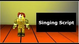 Roblox Sing-Skript (Script Showcase)