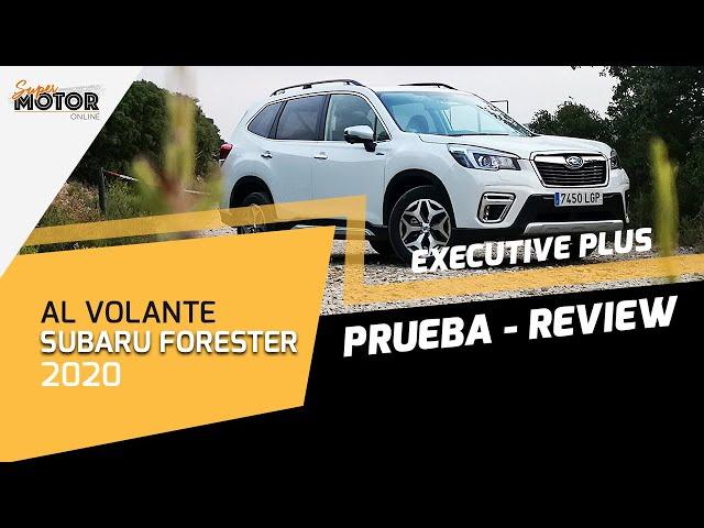 Al volante del Subaru Forester EcoHybrid 2020 / Review / SuperMotor.Online / T5 - E17