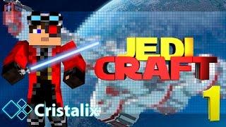 JediCraft Новый минигейм на Cristalix СТАНЬ ДЖЕДАЕМ!!(Открылся новый мини-режим