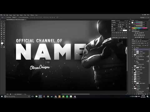 CSGO Banner/Template Design Speed Art