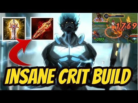 WUKONG BEST CRIT BUILD - INSANE DAMAGE | ARENA OF VALOR WUKONG GAMEPLAY
