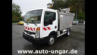 Youtube-Video Nissan Cabstar Müllwagen 5m³ Alu-Kipper Presse Kammschüttung 3,5 tonnen