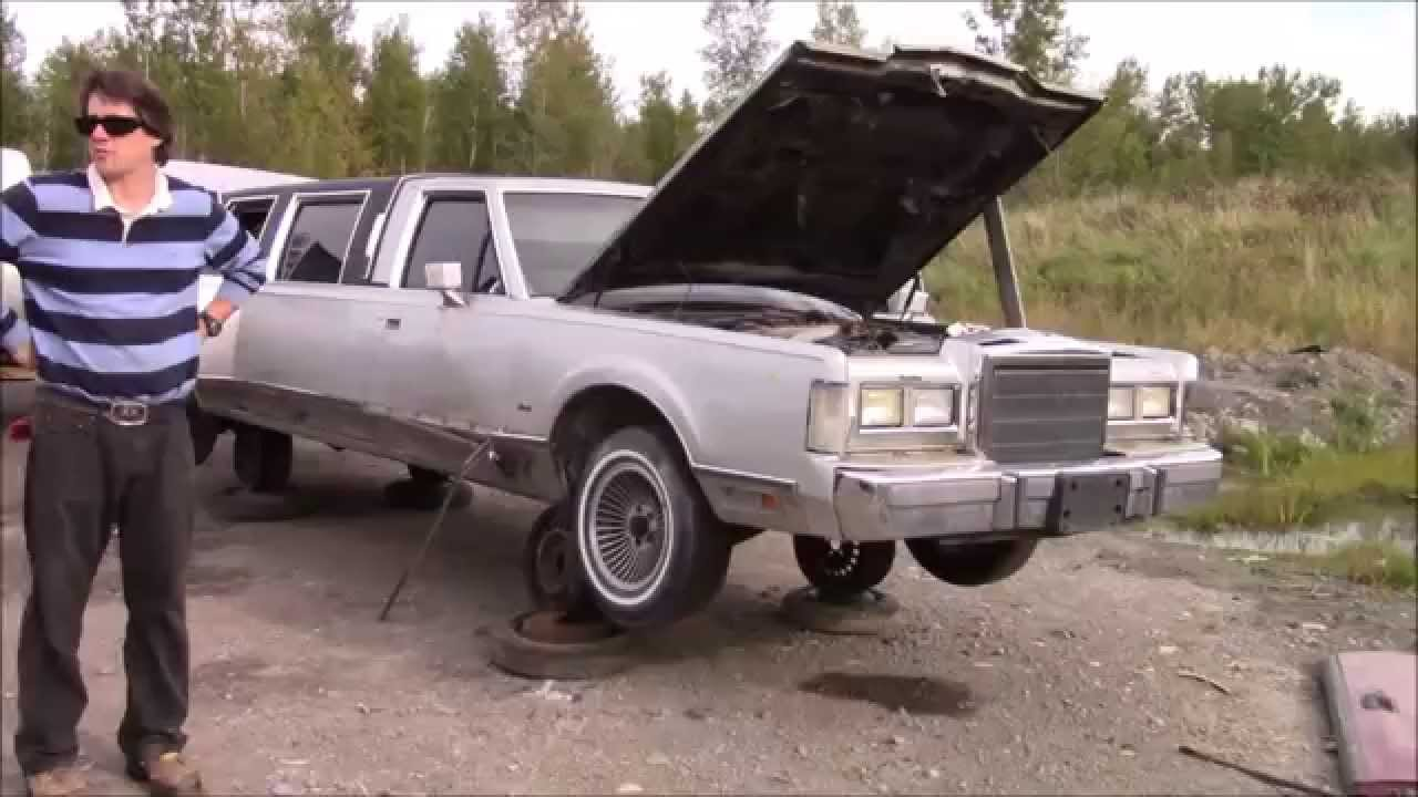1988 Lincoln Towncar Limo At Quebec Kenny U Pull Youtube