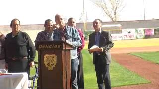 Homenaje Postumo al Sr Luis Antonio Esparza Flores