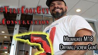 Milwaukee M18 Fuel Drywall Screw Gun!