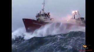 Fırtınaya Yakalanan Gemiler! Devami yeni kanalimizda