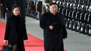 Why did Kim Jong Un choose China for his first foreign visit in 2019?