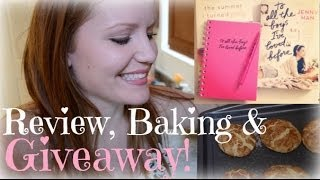 To All the Boys I've Loved Before REVIEW / BAKING + GIVEAWAY!