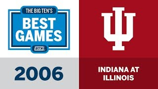 2006 Indiana at Illinois | Big Ten Football | Big Ten's Best Games thumbnail