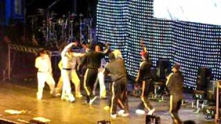 Chris Brown - T-Pain Freeze. Battle. Sydney 08/11/2008