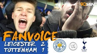 Leicester 2-1 Tottenham | Vardy and Mahrez goals see Leicester beat Tottenham 2-1!! | 90min FanVoice