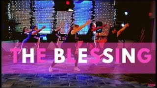 The Blessing by Kari Jobe/ Spanish by Greta Armenia | Saludfit  Cool Down Worship Stretch Not Yoga