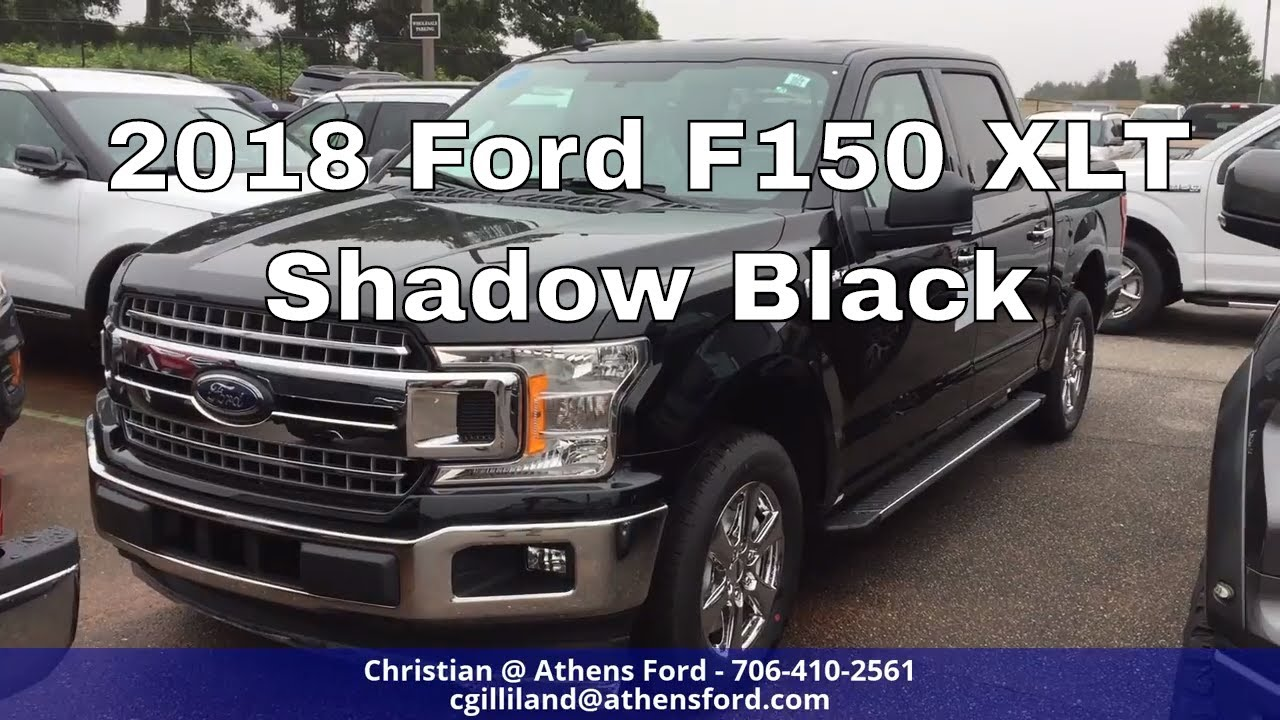 ford  xlt shadow black   youtube