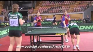 2009 France Belarus Christelle Durand - Marine Zanardi Open du Luxembourg