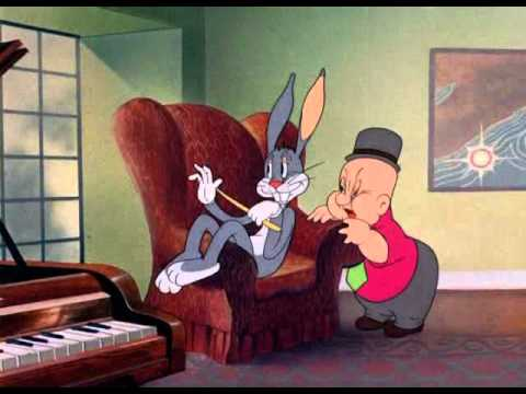 Bugs Bunny - The Wabbit Who Came To Supper (1941)