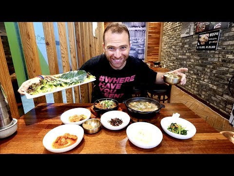 Full KOREAN BREAKFAST + World's BIGGEST Department Store in Centum City | Busan, South Korea