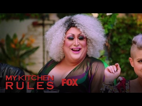 Kelly Osbourne Introduces Her Dinner Party Guests | Season 1 Ep. 5 | MY KITCHEN RULES