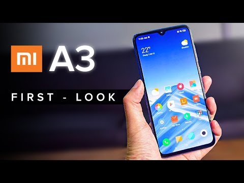 Xiaomi Mi A3 - FIRST LOOK !